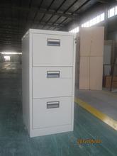 Professional supplier Office 3 Drawer File locker / Modern Design Steel Stackable Drawer Lockers