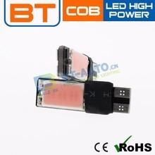 Topsale Auto Led Lights High Power COB T10 Auto Led