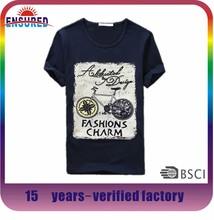 Hong kong most popular factory price printing t shirt