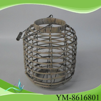 wicker glass candle holder cheap