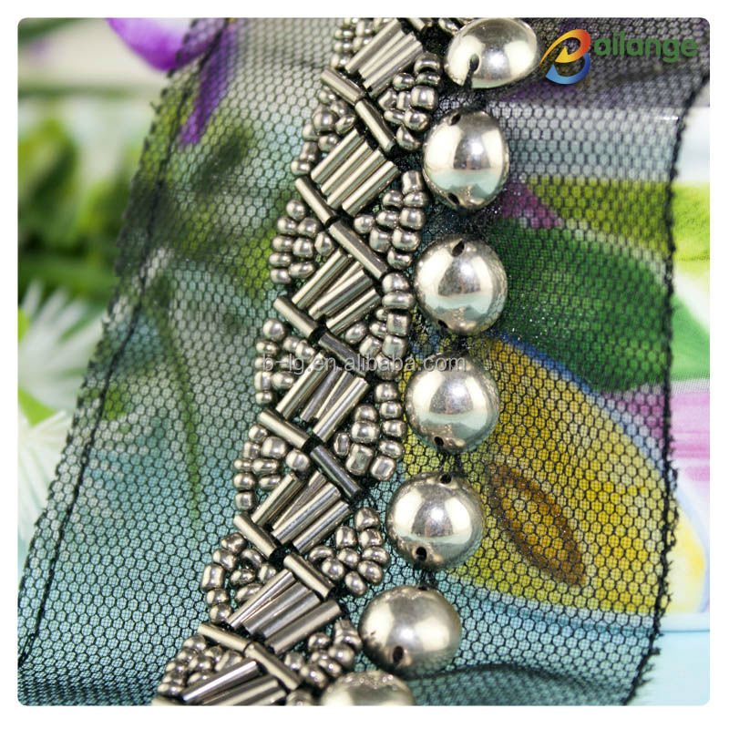 Hot Selling Bead Trimming Bead Embroidery Patterns Sew On Crystal