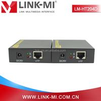 LM-HT204D 60m DVI Transmitter & Receiver, DVI to UTP Extender Support 3D Up to 1080p/60fs