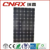 China Supplier Yueqing Ruixin Group photovoltaic module Mono 250 Watt 60 cells solar panel with TUV CE ROSH best price per watt