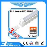 Brand new 18w led red tube xxx with CE certificate T8