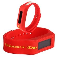 factory cheap digital watch,silicone watch with different colors