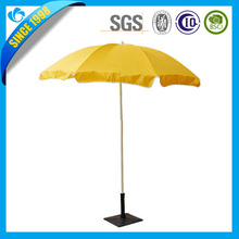 2M Wooden parasol umbrella garden umbrella patio red tube indian beach umbrella