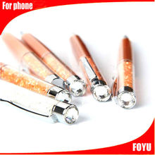 colorful crystal stylus for smartphone cheap touch pen beautiful stylus touch pen