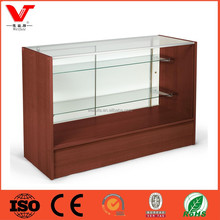 Retail Counter Adjustable Tempered Glass Shelves For Sale