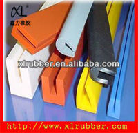 good quality and uniform density silicone rubber seal strip for heat preservation