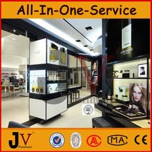 HOT fashion original design cosmetic store display furniture and showcase