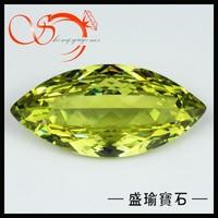 peridot big marquise lab created diamonds for sale CZMQ0029