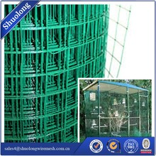 PVC Coated Welded Wire Mesh Fencing Chicken Poultry Aviary Fence For Sale