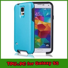 High quality PC TPU armor cases for samsung galaxy s5