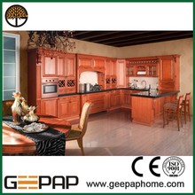 customized design antique kitchen cabinet with good price