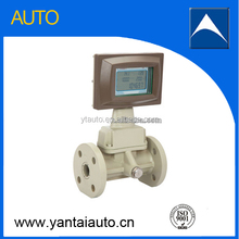 Hight accuracy turbine gas flow meter for air flow measurement