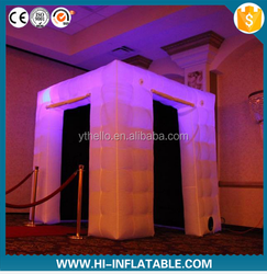 new portable colorful inflatable photo booth/photobooth inflatable for sale
