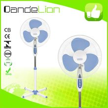 new design CE rohs 16 stand fan price best/water fan cooler stand fan o1