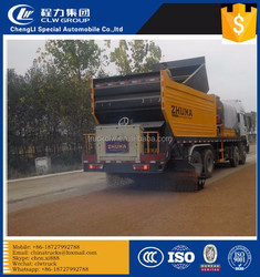 Road Machines Synchronous Chip Sealer ,road construction ,synchronous chip spreader truck 8m3 6x4 SINO