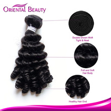 Classic hair extensions funmi hair real virgin reliable quality Brazilian anuty middle funmi hair