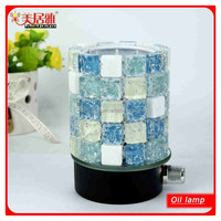 Electric mosaic candle holders wholesale fragrance lamp