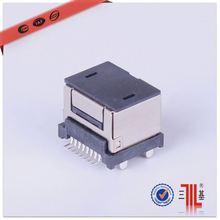 retractable rj45 ethernet lan cable connector d-sub connector rj45 to vga15 d-sub rj45 vga 15pin