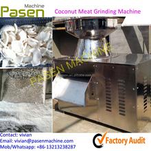 Aço inoxidável coco máquina de processamento / coqueiro elétrica máquinas ralar
