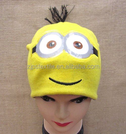 Knitting Pattern Minion Beanie ~ anaf.info for