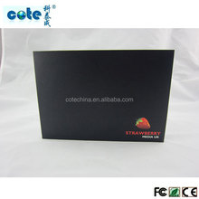 chinese imports wholesale 7 inch video brochure A5 paper card size, LCD video booklet
