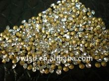 glass beads back rhinestone bead non hot fix crystal