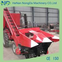 Combined 2 rows corn harvesting machine