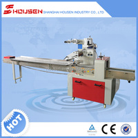 Pillow Shape wrapping Machine|biscuits/pies/chocolates/bread/instant noodles wrapping machine