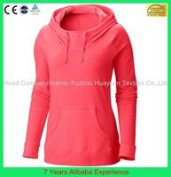 New Fashion 2015 Women Hoodies Spring Autumn Sportswear Plain Pullovers Jersey Sweatshirts- 6 Years Alibaba Experience