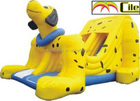 CILE 2015 Popular Yellow Dog Sportsstuff Super Slope Inflatable Water Slide
