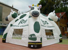 inflatable tent with animal head