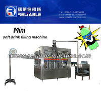 Small Capacity Carbonated Beverage Can Filling Machine