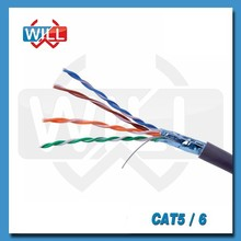 Alibaba custom Professional manufacture high speed cat5e network cat5 cable