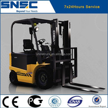 SNSC china new brand good 1 ton electric fork lift 1 tons