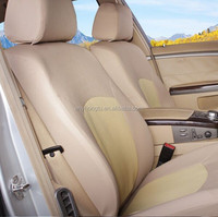 Luxury beige well fit car interior color seat cover