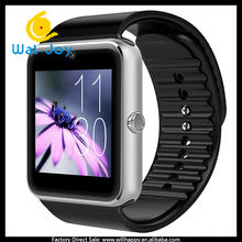 WJ-4694 latest design GT08 smart bluetooth watch camera factory direct cheap watch