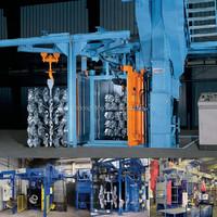 Q376B Dong Hang Type Shot Grit Blast Machine, Descaling / Stripping CE,ISO9001 Machine