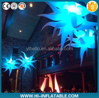 2015 hot sale christmas party decorations inflatable star for event supply