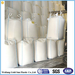 Good quality cheap china manufacturer direct factory supply Jumbo bags/ big woven bags to pack 1000-2000kg for sand/ rubble