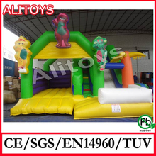 Happy Bouncer Inflatable Combo, Kids Commercial Inflatable Toys