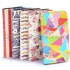 Lichee Pattern Wallet Style Stand PC+PU Leather Case for Samsung Galaxy S4 cover i9500 i9505 i9508 with Strap