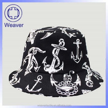 Stylish high quality floral printing bucket hat floral pattern