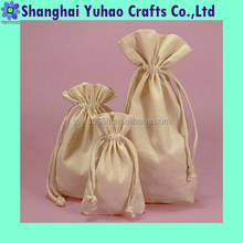 Cotton muslin bags for storing household items toiletries