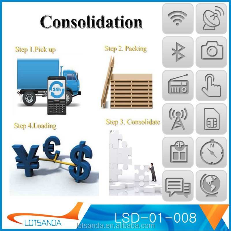 Consolidation Service Drop Shipping Logistics Custom Clearance ...