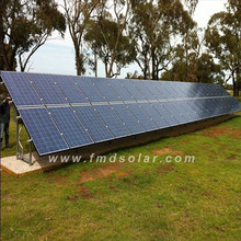 15kw ground mounting solar system with gel battery and A grade solar panel