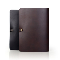Italy genuine cow leather flip cover case for tablet