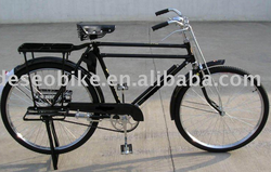steel bicycle bike, Solid, durable, the load-carrying capacity is big, family, factory best choice
